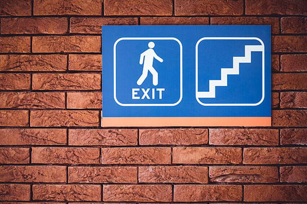 Interior Exit Signs in Aurora, ON