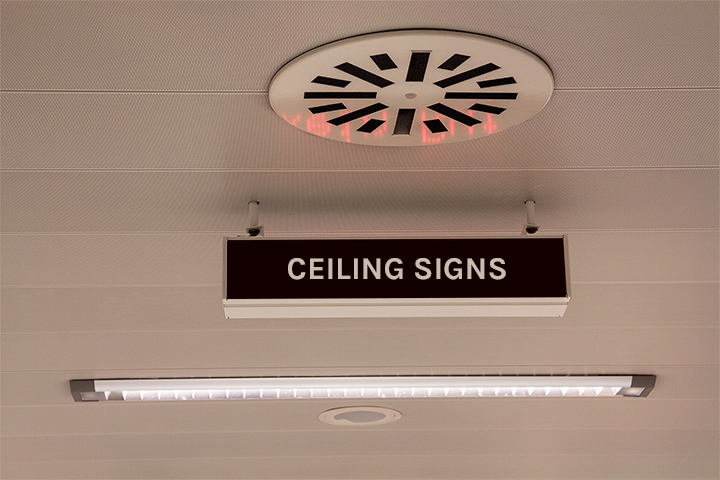 Ceiling Graphics and Signs in Aurora, ON