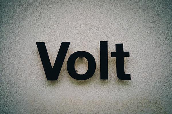 Volt Interior Sign design in Aurora, ON