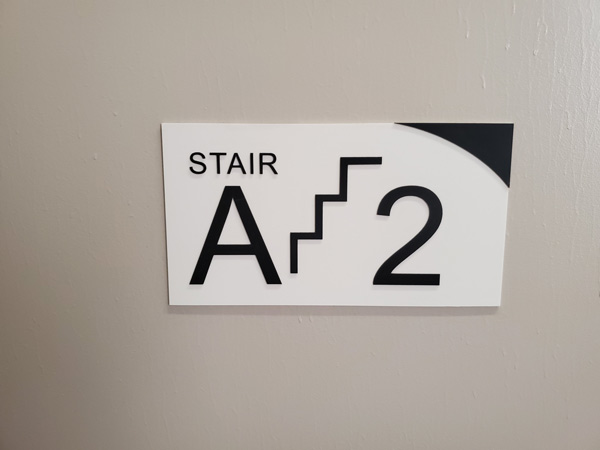 Stairs Interior Wayfinding Signs are the most convenient sign