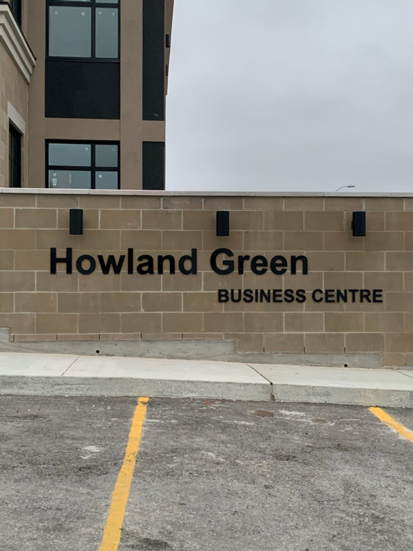 Custom metal letters signs services offers by Insight Signs and Graphics in Aurora, ON